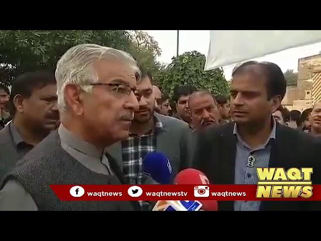 Khawaja Asif Media Talk 23 11 18