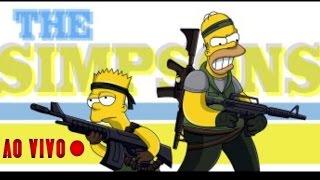 Os Simpsons - AO VIVO (Em português)
