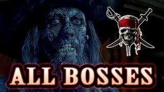 Pirates of the Caribbean: Legend of Jack Sparrow All Bosses (PS2, PC)