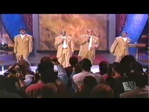 """New Edition """"Hot Tonight"""" Steve Harvey Show"""