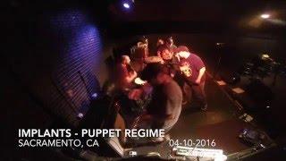Implants - Puppet Regime Live