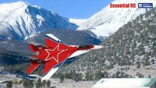 AMAZING Soviet Mikoyan MiG-29 OVT VECTORED THRUST Demo (sim)