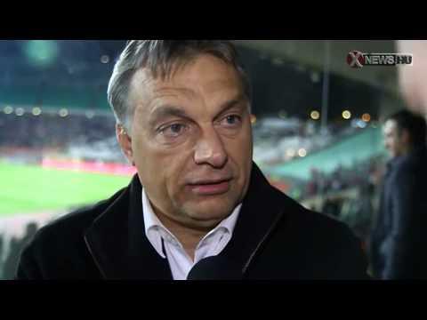 Orbán: a VIP-páholyban meccset nézni elfajzás