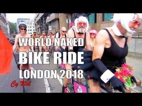 WNBR World Naked Bike Ride London 2018 Highlights