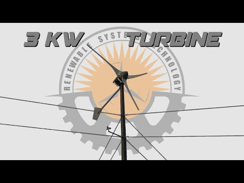 Building The 3 kW Reaper Off Grid Wind Turbine  Complete DIY Build  Plans Available
