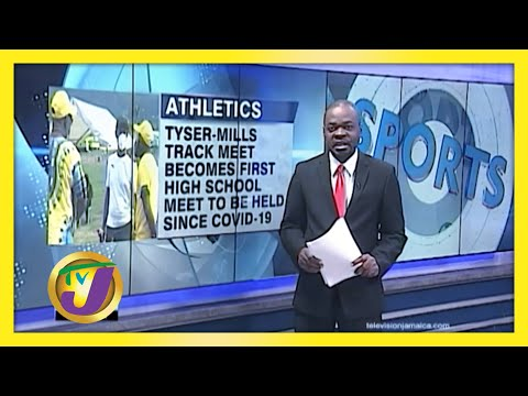 Tyser-Mills Becomes 1st HS Track meet Since Covid | TVJ Sports News