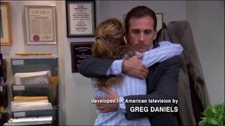 The Office - Michael and Pam's First and Last Hugs