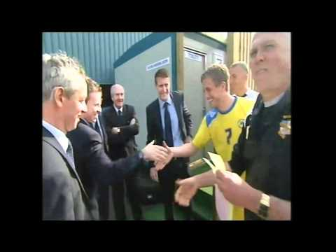 Torquay United - behind the scenes on matchday