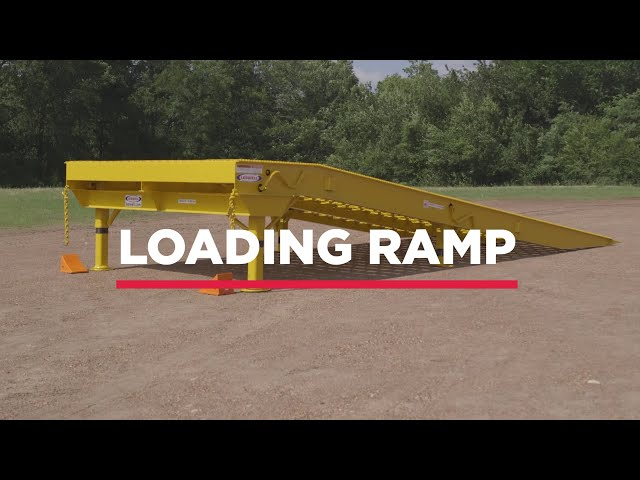 Heavy Duty Ramp Powered By The Sun | Ledwell Loading Ramp