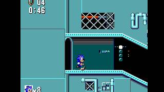Sonic the Hedgehog - Scrap Brain Zone - Vizzed.com GamePlay - User video