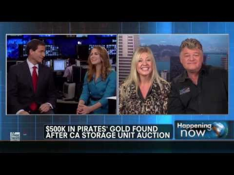 Real Treasure Found in Storage Auction Dan & Laura Dotson American Auctioneers on Fox News