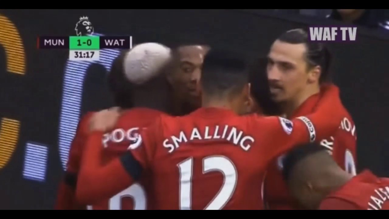 Download Manchester United vs Watford 2-0 - All Goals & All Plays 11/02/2017