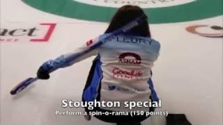 Sick Shot: Fleury performs double spin-o-rama