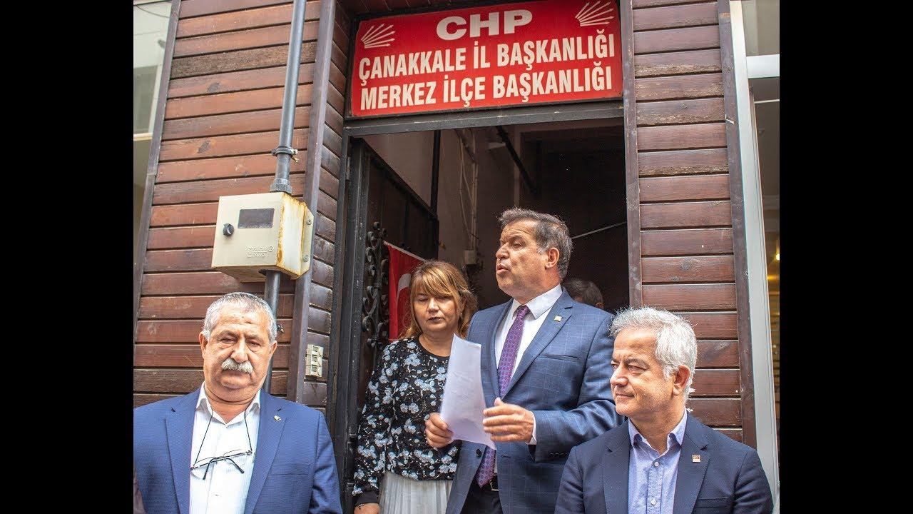 Celal Karakaş Çanakkale Belediyesi Aday Adaylığı Basın Açıklaması