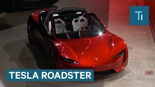 Tesla Unveils New Roadster 2017 Video