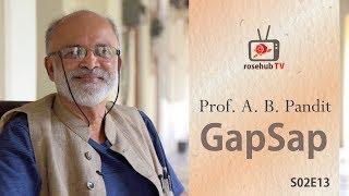 गप शप   Prof. A. B. Pandit   ICT Mumbai   Future of Chemical Engineering