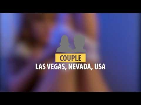 Couple, Las Vegas, Nevada, USA