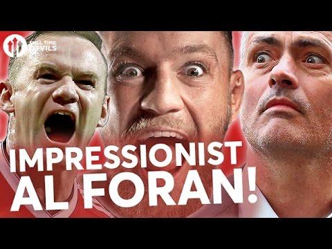 Conor McGregor, Jose Mourinho, Wayne Rooney | Al Foran Impressions!