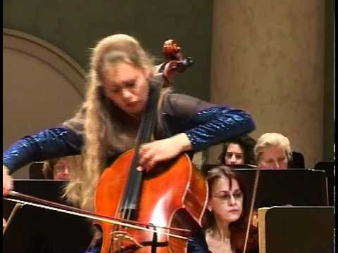 Christine Rauh - Dvorak Cello Concerto in B minor, Op. 104