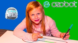 OZOBOT EVO Assistant Learns Coding and Programing Playing with the Ozobot Evo