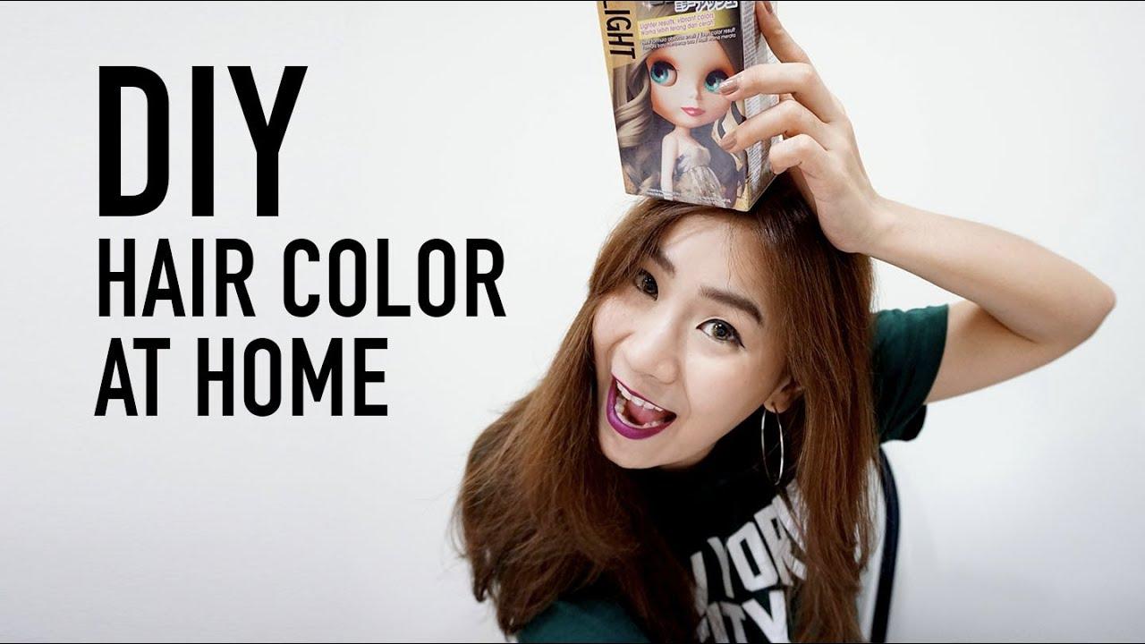 Diy Hair Color At Home ทำสีผมเองที่บ้าน Schwarzkopf
