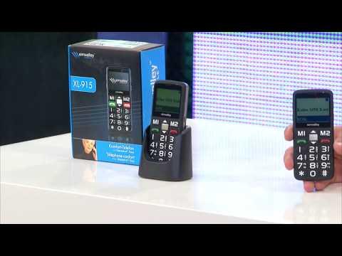 simvalley MOBILE Komfort-Mobiltelefon XL-901 mit Garantruf