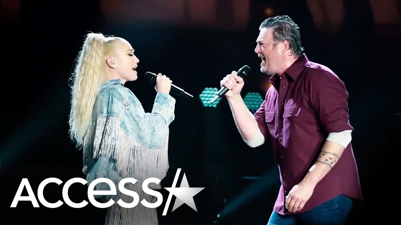 Blake Shelton & Gwen Stefani Look So In Love Singing 'Nobody But You' Duet