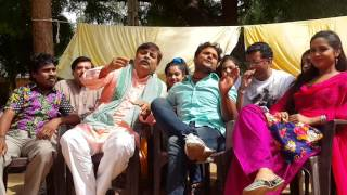 Masti Time On Set Of Mehandi Laga  Ke  Rakhna Bhojpuri Movie Khesari Lal Yadav, Kajal Raghwani