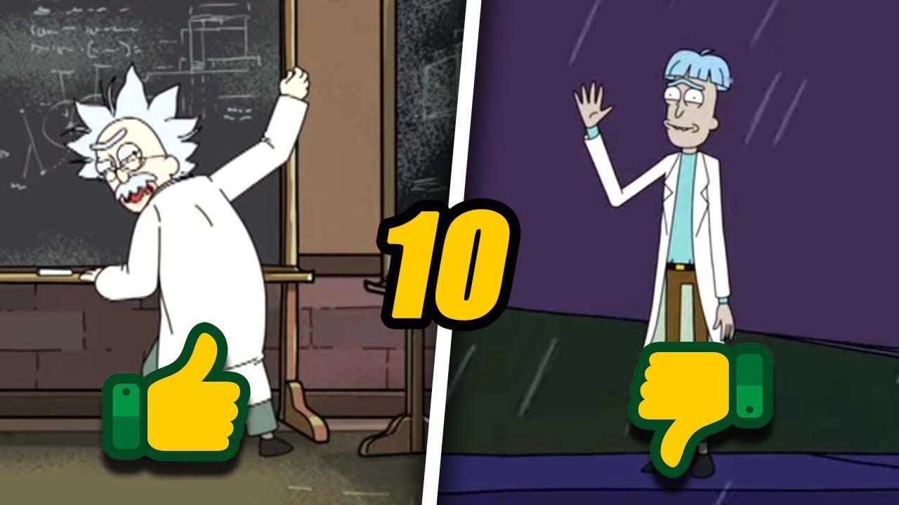 Top 10 Mejores Escenas Post-Créditos en Rick y Morty