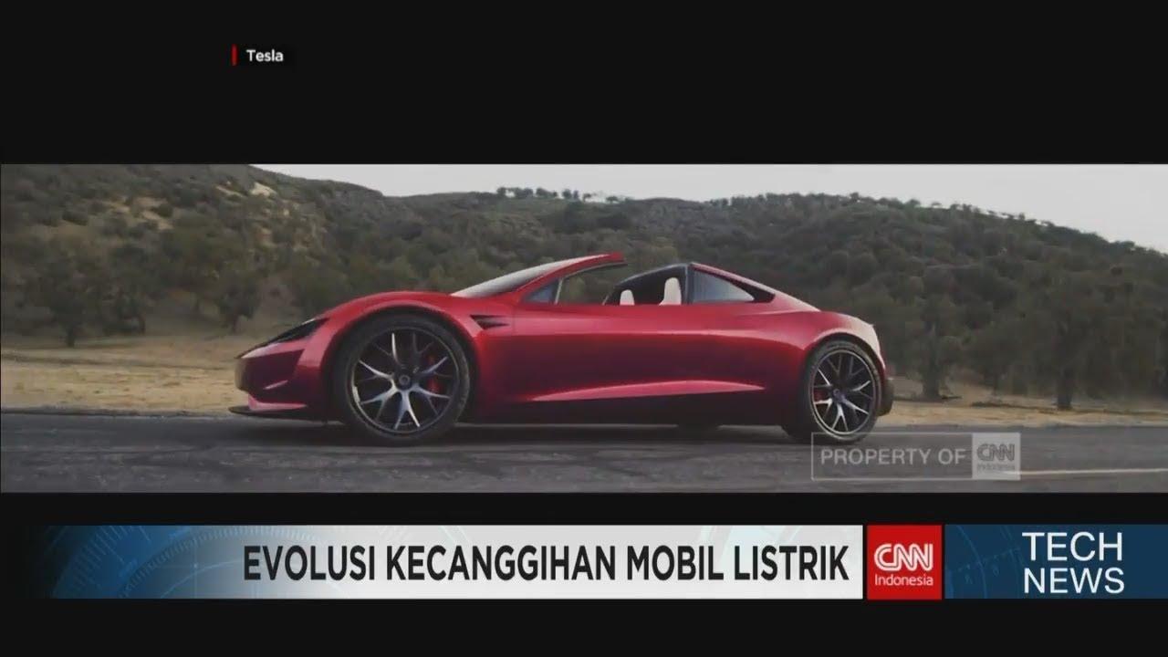 Mobil Listrik Terbaru Tesla Lebih Kencang Daripada Bugatti Chiron Youtube