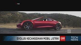 Mobil Listrik Terbaru Tesla Lebih Kencang daripada Bugatti Chiron!