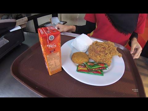 Greater Jakarta Street Food 1384 Part.1 Lotus Fried Chicken Great Ingredients Great Food