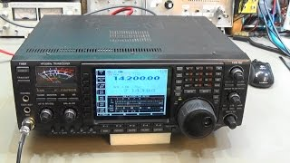 103 repair icom ic 756pro3 with heavy selfoscillation on ssb