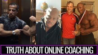 SHAWN RHODEN`s trainer Psycho Fitness talks about top gurus of bodybuilding