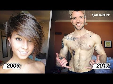 10 personas que cambiaron de sexo y lucen genial