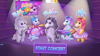 Pony Sisters Pop Music Band - Play, Sing & Design -  Android gameplay TutoTOONS Movie apps free