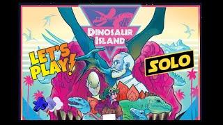 Dinosaur Island | Solo Playthrough