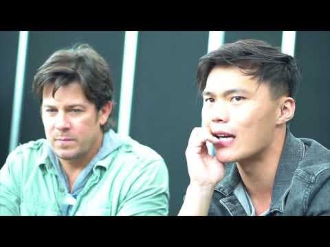 John Harlan Kim and Christian Kane talk The Librarians at NYCC 2017