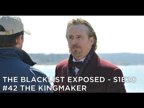 The Blacklist Exposed – S1E20 – #42 The Kingmaker