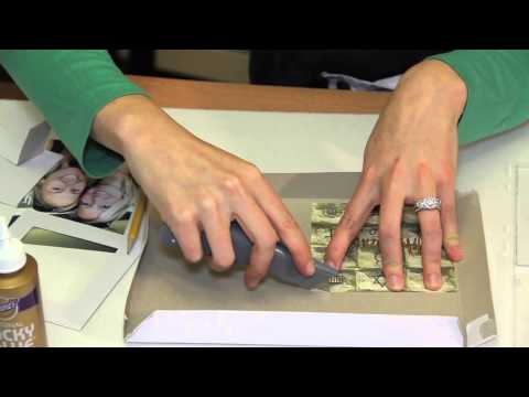 How To Make Picture Frames Out Of CD Cases : Picture Frame Crafts