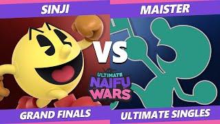 Naifu Wars 13 Grand Finals - SSG | Maister (Game & Watch) Vs. DA | Sinji (Pac-Man) SSBU Singles
