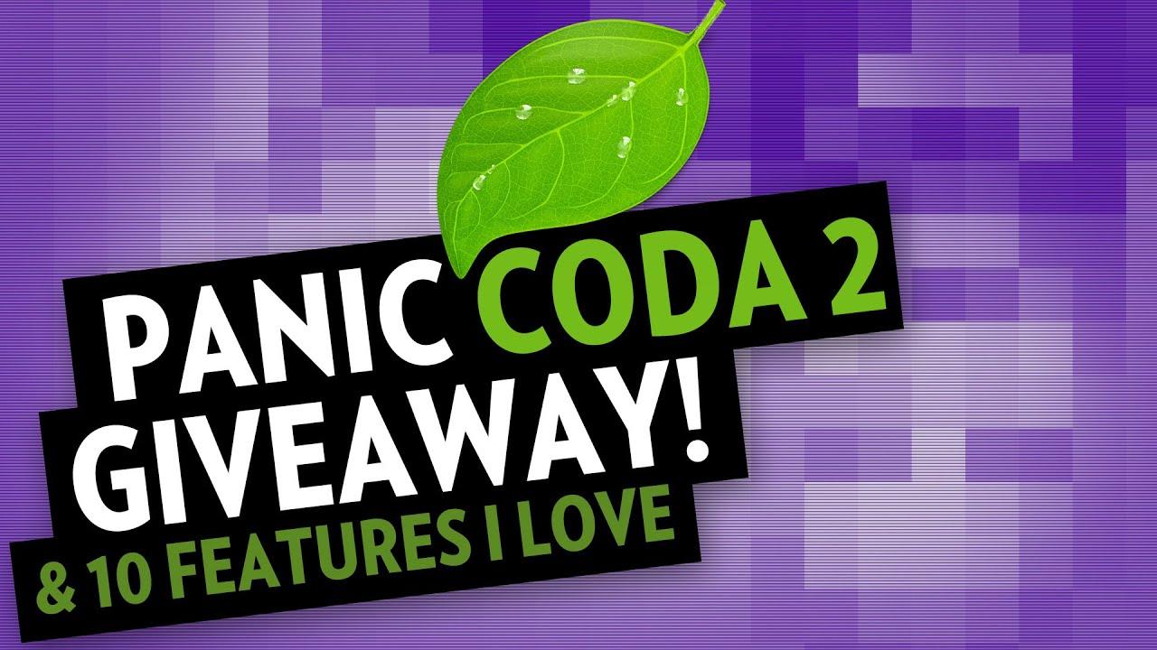 Panic Coda2 — 10 features I love...