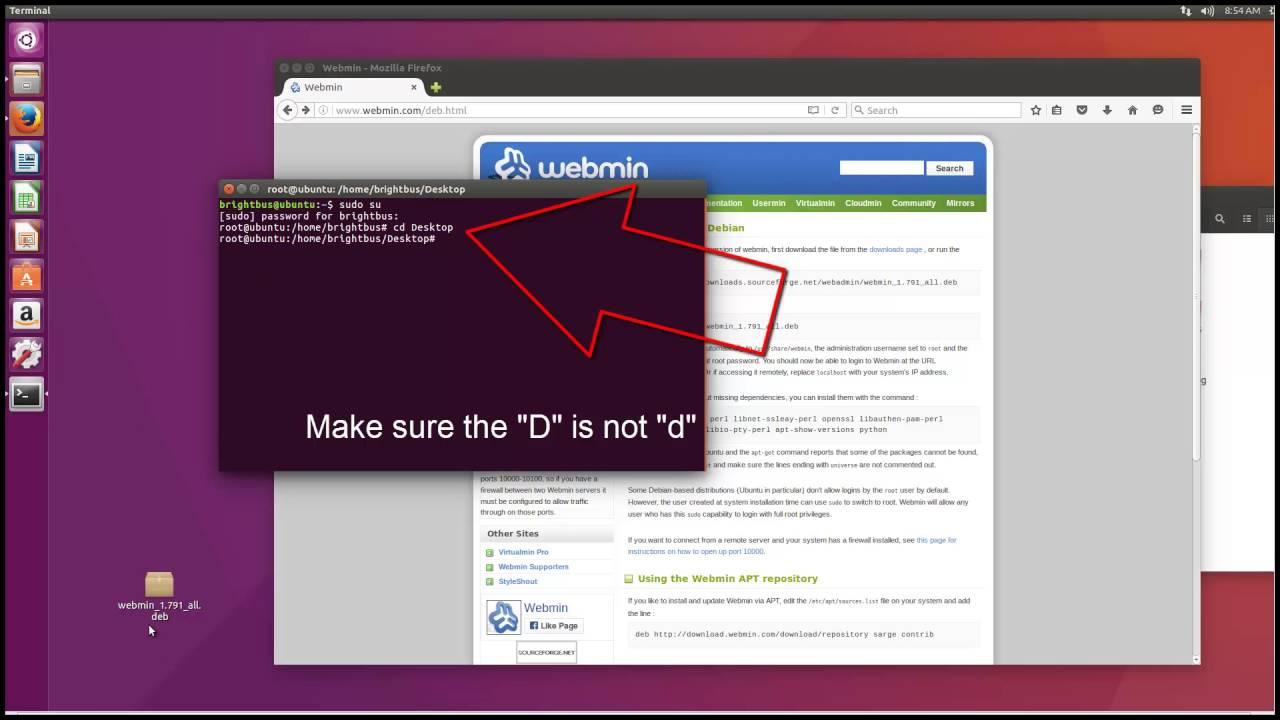 Webmin аналги для ubuntu