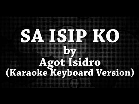 Sa Isip Ko (Karaoke Keyboard Version) by Agot Isidro