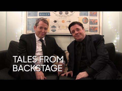 "Tales from Backstage: Matthew Broderick and Nathan Lane at ""The Producers"""