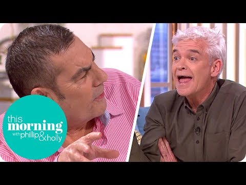 Phillip Forced to Intervene in Heated Debate Over Jamie Carragher's Spitting | This Morning