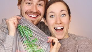 HUSBAND BUYS MY DOLLAR STORE MAKEUP