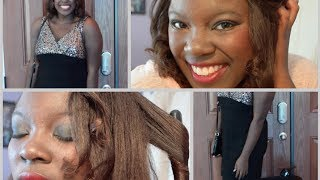 New Years Eve / New Years Party: Hair, Makeup,  && Outfit || Collab with TeenGlamourGirl1 Thumbnail