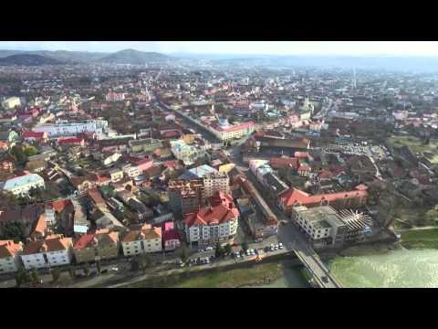 Города Закарпатья.Красивый город Мукачево