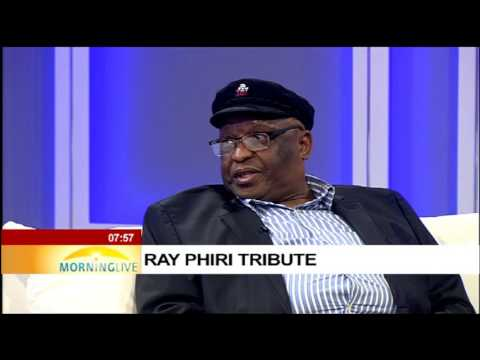 Founder of Joy of Jazz Peter Tlali pays tribute to Ray Phiri